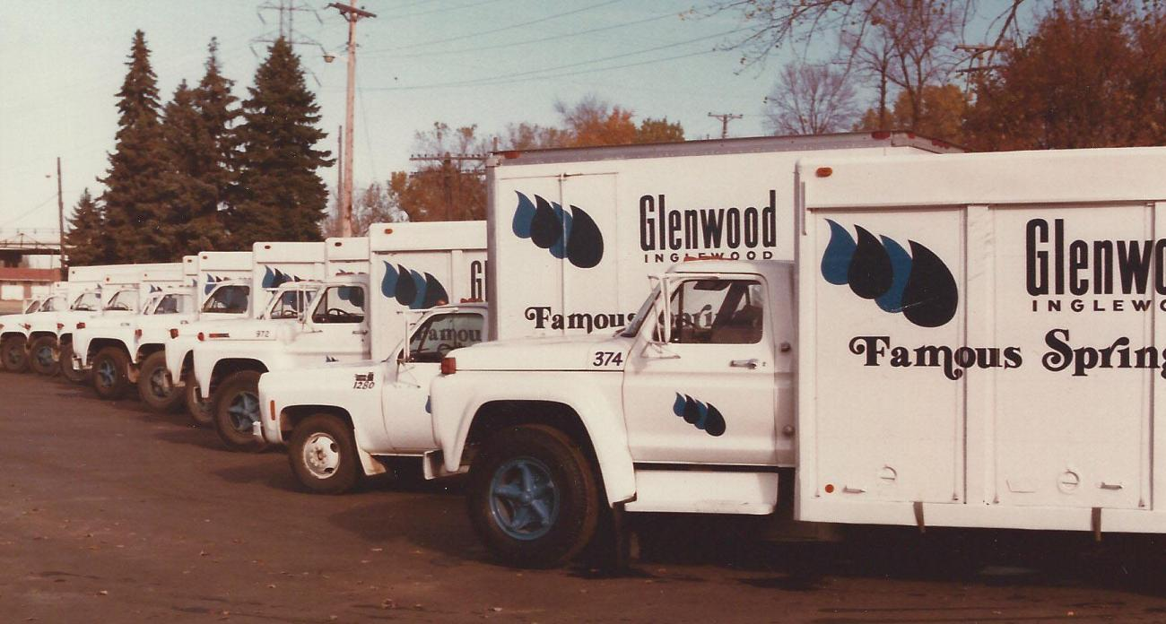 There was a need for a sizable fleet of trucks to ahul water to the Glenwood-Inglewood customers across the Upper-Midwest.