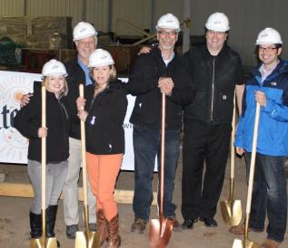 Utepils Breing Co. Breaks Ground @Glenwood